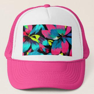 Tropical Neon Splash in Paradise Trucker Hat