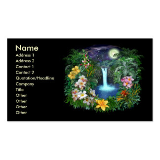 Tropical Nights Double-Sided Standard Business Cards (Pack Of 100)