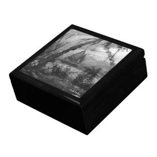 Tropical Nights Sailboat Ceramic Tile Trinket Box