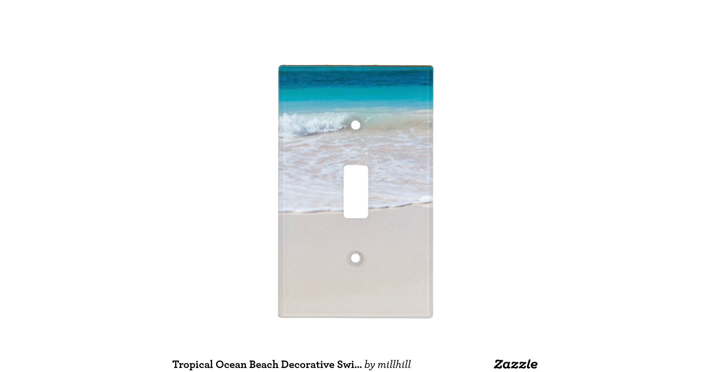 Beach Switch Plate Covers American Hwy