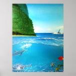 Tropical Ocean Posters