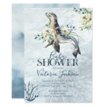 Tropical Ocean Seal Baby shower invitations