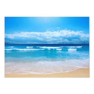 Tropical Ocean View Invitation