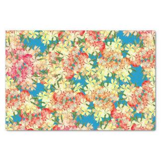 Tropical Oleander Flowers Floral Tissue Paper