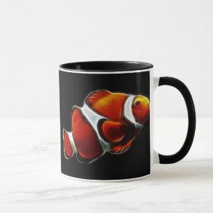 Tropical Orange Clownfish Clown Fish Mug