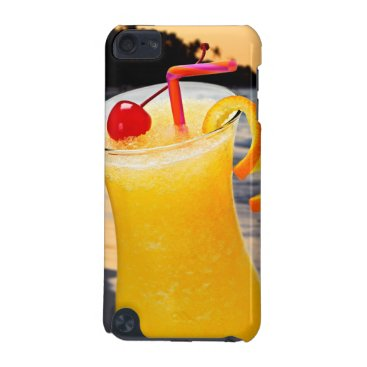 Beach Themed Tropical orange drink iPod touch (5th generation) cover