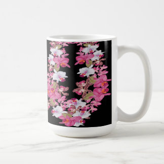 Tropical Orchid Flowers Floral Island Lei Mug