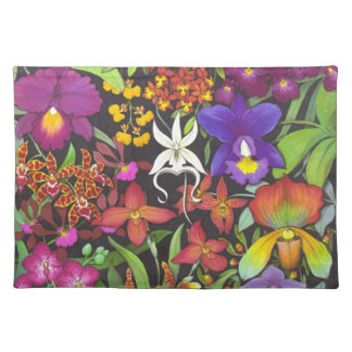 Tropical Orchid Garden Placemat