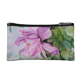 TROPICAL ORCHID MONOGRAMED COSMETIC/CLUTCH BAG