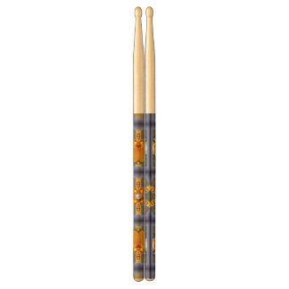 Tropical Orchid Pearl Pair of Drumsticks
