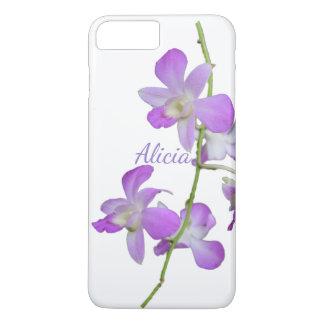 Tropical Orchid purple white iPhone 8 Plus/7 Plus Case