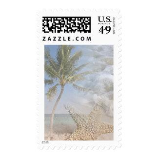 Tropical Palm Breeze Postage