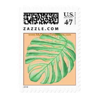 Tropical Palm Leaf postage
