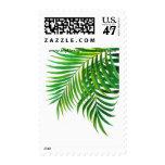 Tropical Palm Leaf Stamp