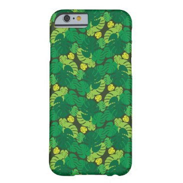 Beach Themed Tropical Palm Leaves Barely There iPhone 6 Case
