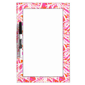 Tropical Palm Leaves Dry-Erase Board