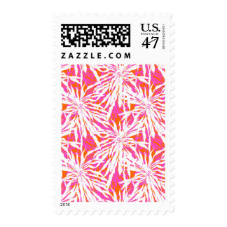 Tropical Palm Leaves Postage