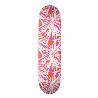 Tropical Palm Leaves Skateboard Deck