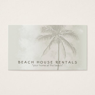 Tropical Palm (standard) Business Card