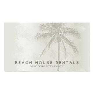 Tropical Palm (standard) Business Card Templates