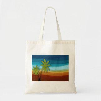 Tropical Palm Tree Canvas Bag