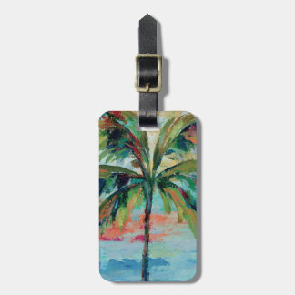 Tropical | Palm Tree Bag Tag