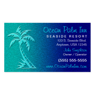 Tropical / Palm Tree Business Card