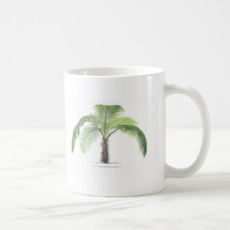 tropical palm tree collection - drawing VI Coffee Mug