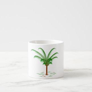 Tropical Palm Tree Espresso Cup