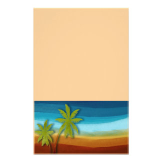 Tropical Palm Tree Flyer