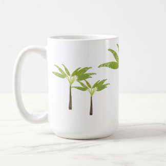 Tropical Palm Tree Island Beach Theme Simple Coffee Mug