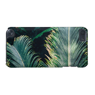 Tropical Palm Tree Leaves, Exotic Photograph iPod Touch 5G Covers