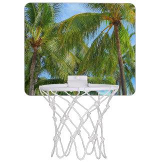 Tropical Palm Tree Mini Basketball Backboard