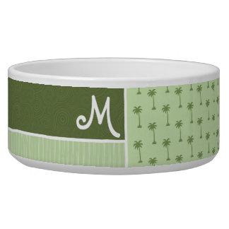 Tropical Palm Tree Pattern Bowl