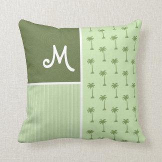 Tropical Palm Tree Pattern Pillow