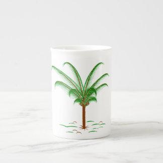 Tropical Palm Tree Tea Cup