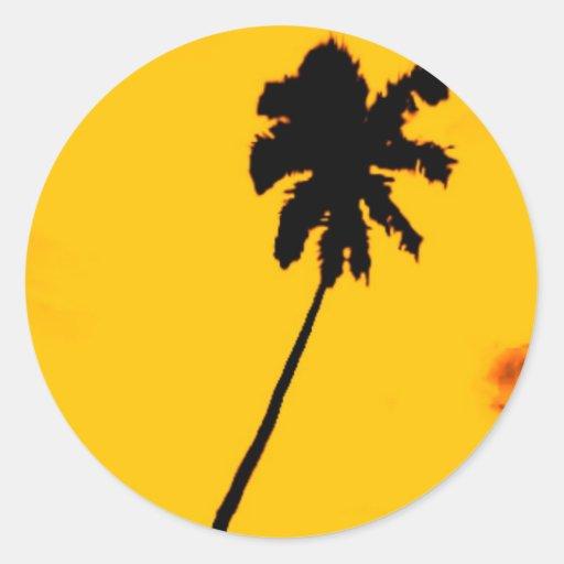 Tropical Palm Tree Sticker