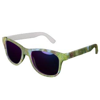 Tropical Palm Tree Sunglasses