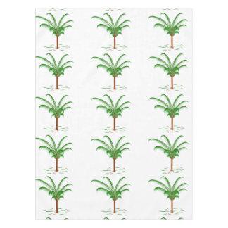 Superb Tropical Palm Tree Tablecloth