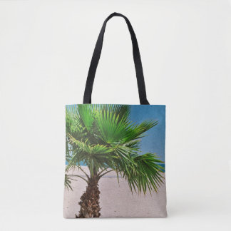 Tropical Palm Tree Tote Bag
