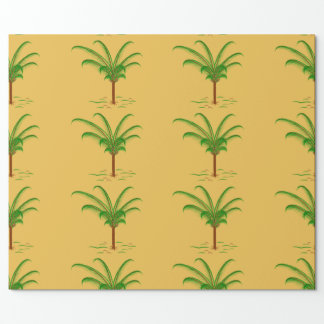 Tropical Palm Tree Wrapping Paper