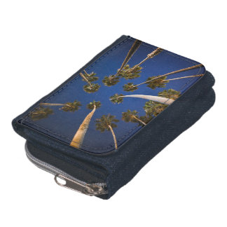 TROPICAL PALM TREES BLUE SKY PHOTOGRAPHY WALLPAPER WALLET