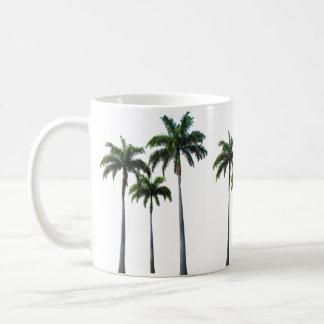 Tropical - Palm Trees - Classic White Mug