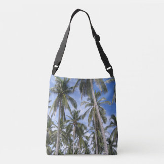 Tropical Palm Trees Crossbody Bag