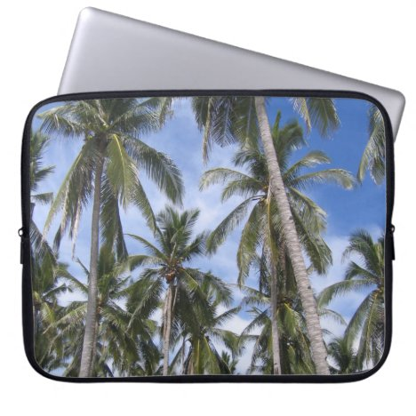 Tropical Palm Trees Laptop Sleeve