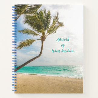 Tropical Palm Trees Personal Writing Journal