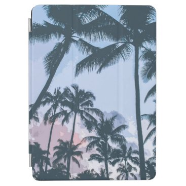 Tropical Palm Trees Silhouette   iPad Air Case