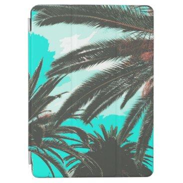 Tropical Palm Trees Teal Sky   iPad Air Case