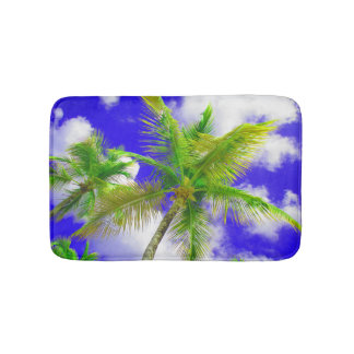 Tropical Palms Bath Mat