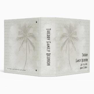 Tropical Palms Vinyl Binders